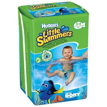 Huggies Памперс гащички / бански за плуване Little Swimmers  /7-15 кг./ 12бр.